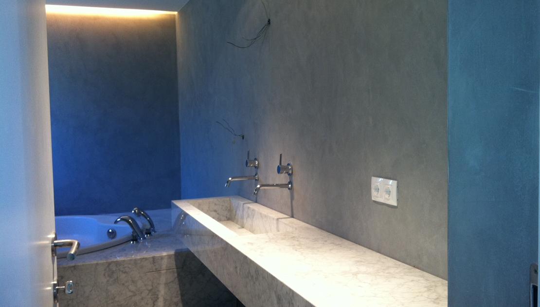 baños en microcemento